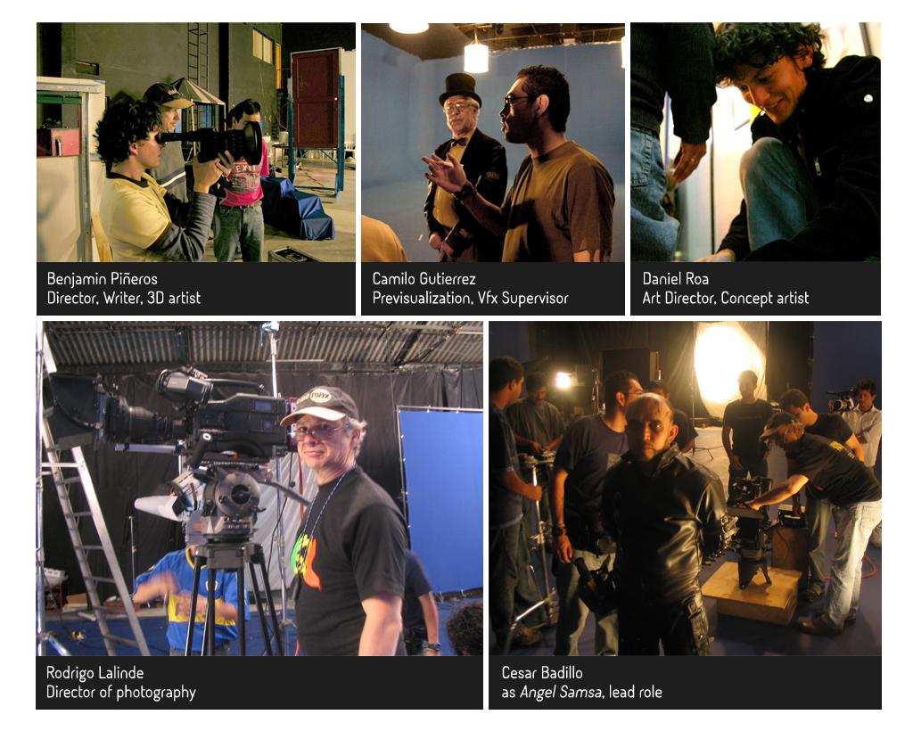 The main crew on Servicios Publicos consisted in Daniel Roa as Production designer, Rodrigo Lalinde as Director of photography, Camilo Gutierrez as vfx supervisor and Benjamin Pineros as Director.